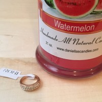 Watermelon Ring Candle