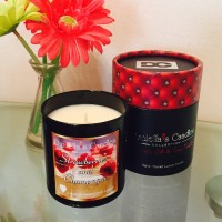 Strawberries Jewelry Candle
