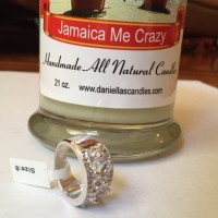 ring inside candle