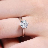 Ring CZ Gold Plated