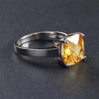 Ring CZ Yellow