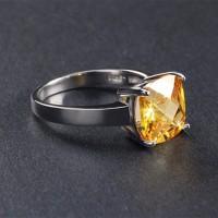 Ring CZ Yellow
