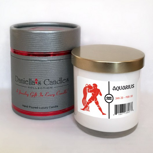 Aquarius Jewelry Candle