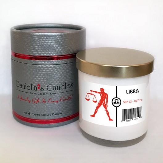 Libra Jewelry Candle