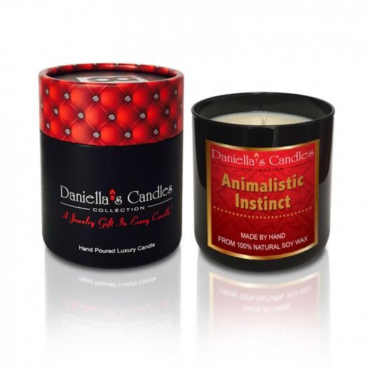 Animalistic Instinct Men's Jewelry Candle