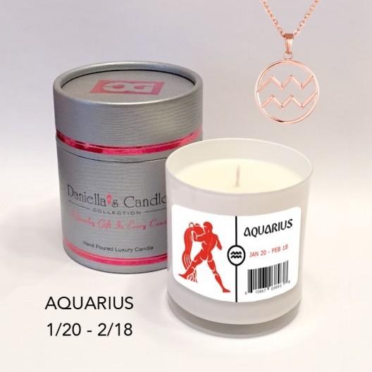 Aquarius Jewelry Candle
