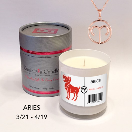Aries Jewelry Candle