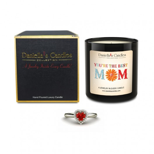 World's Best Mom Jewelry Candle