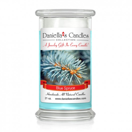 Blue Spruce jewelry Candle