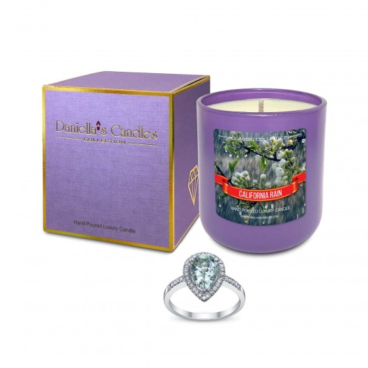 California Rain Jewelry Candle