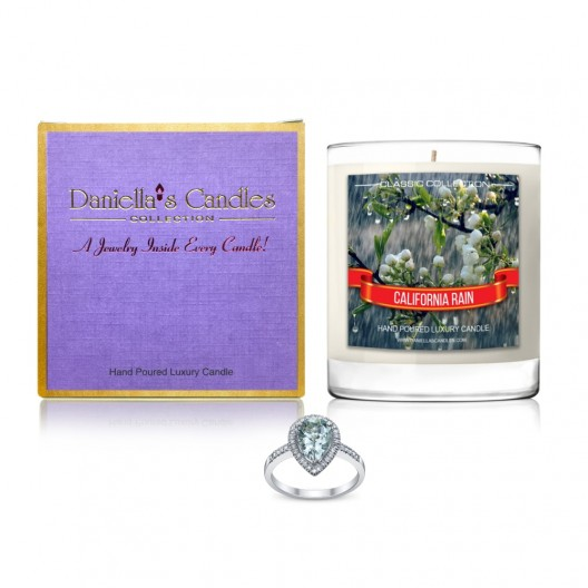 California Rain Jewelry Candle