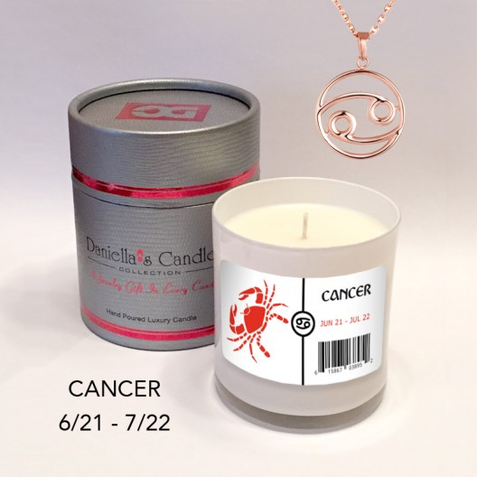 Cancer Jewelry Candle
