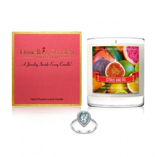 Citrus and Fig Jewelry Candle