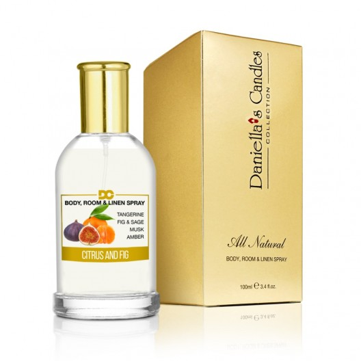 Citrus and Fig - Room, Body & Linen Spray