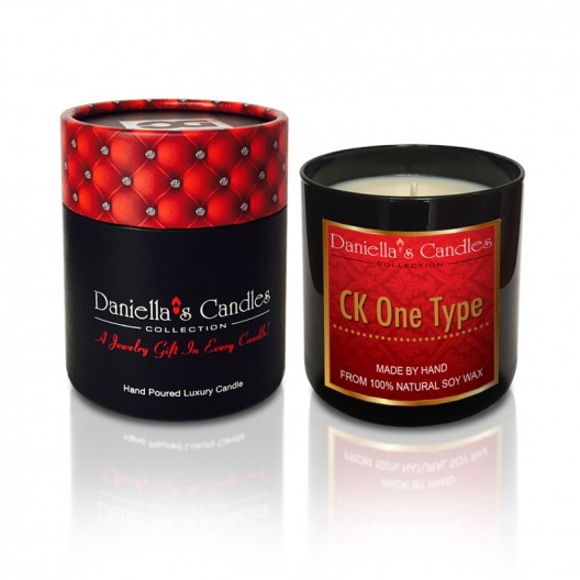 CK One Type Men's Jewelry Candle