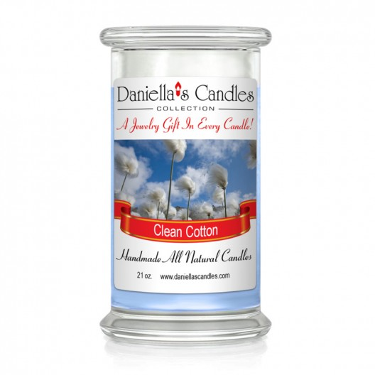 Clean Cotton Jewelry Candle