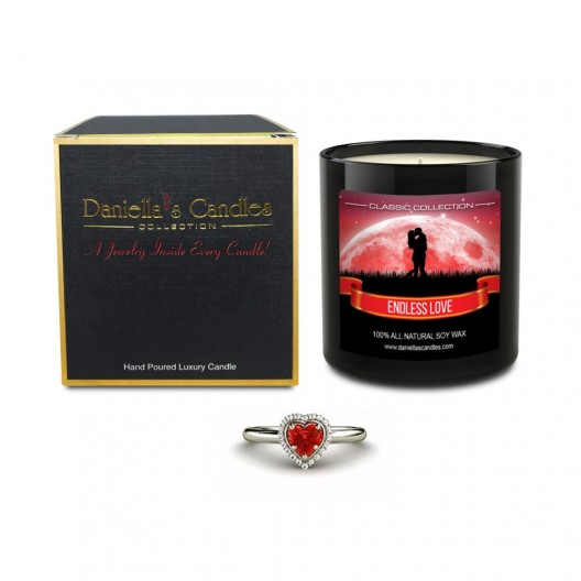 Endless Love Jewelry Candle