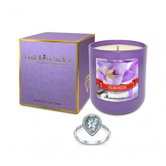 Italian Freesia Jewelry Candle