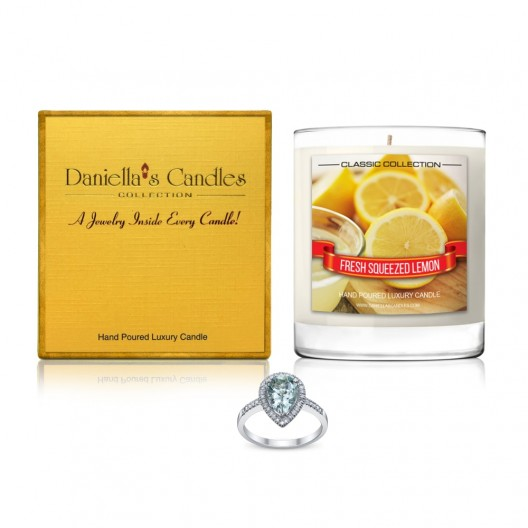 Fresh Squeezed Lemon Jewelry Candle