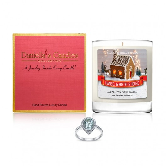 Hansel and Gretel's House Jewelry Candle