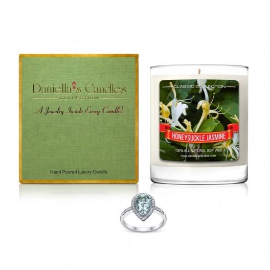 Honeysuckle Jasmine Jewelry Candle