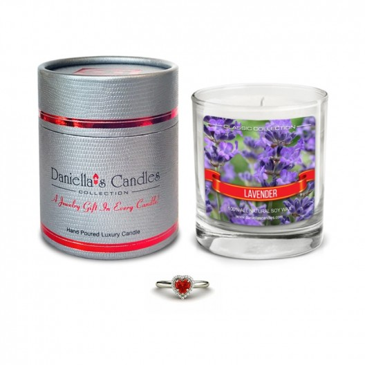 Lavender Jewelry Candle