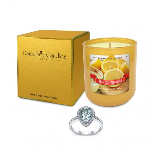 Fresh Squeezed Lemon Jewelry Candle