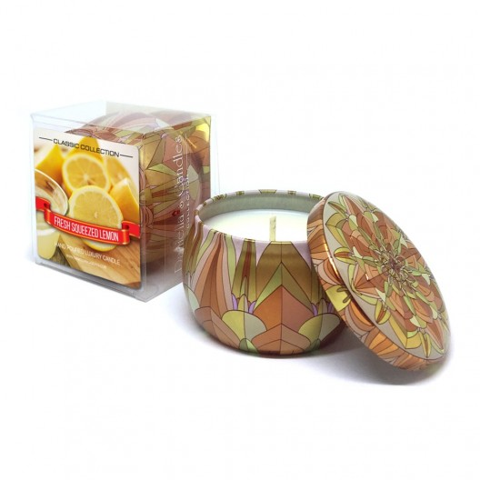 Fresh Squeezed Lemon Travel Tin Candle