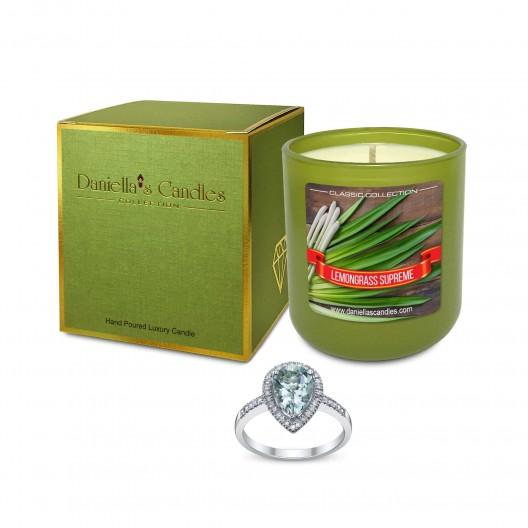 Lemongrass Supreme Jewelry Candle