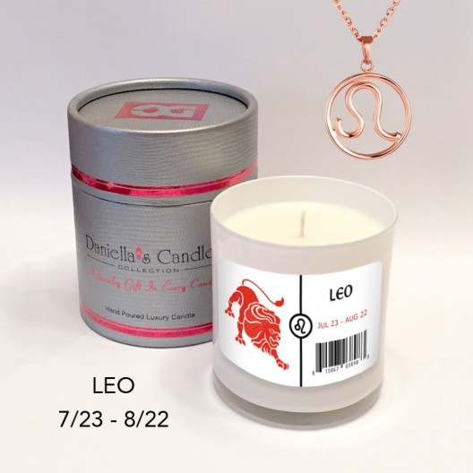 Leo Jewelry Candle