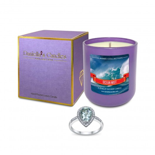 Ocean Mist Jewelry Candle