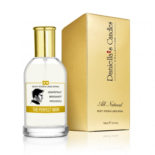 The Perfect Man - Room, Body & Linen Spray