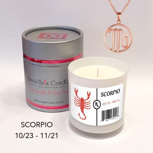 Scorpio Jewelry Candle