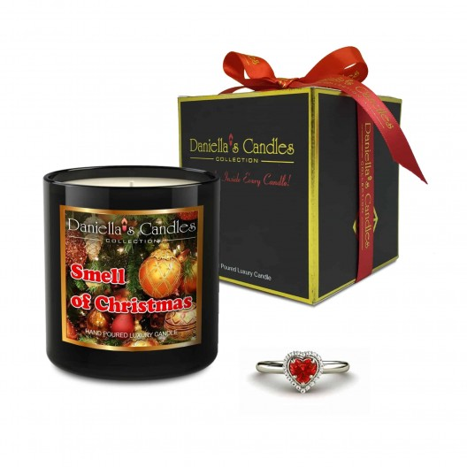 Smell Of Christmas Jewelry Candle