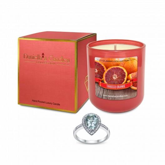 Tarocco Orange Jewelry Candle