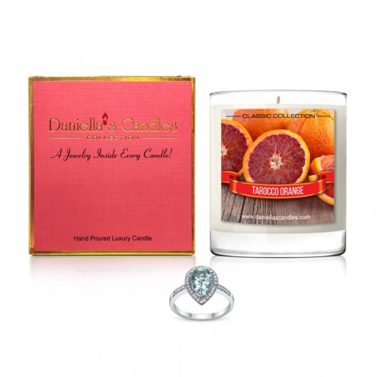Tarocco Orange Jewelry Candle