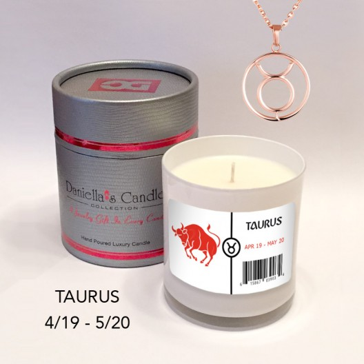 Taurus Jewelry Candle