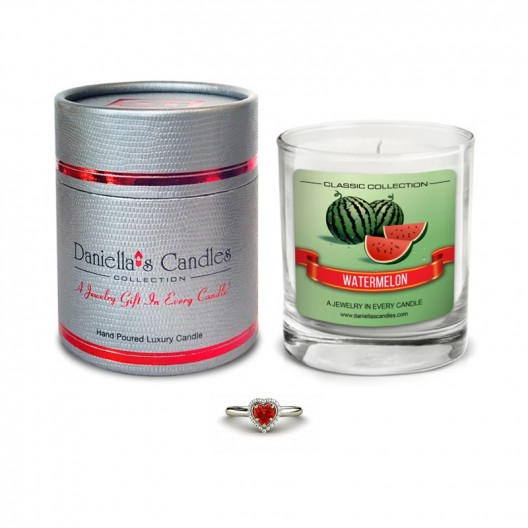 Watermelon Jewelry Candle